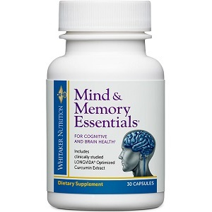 Dr. Whitaker Mind & Memory Essentials for Brain Booster