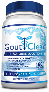 Goutclear bottle for Gout