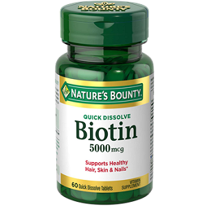 Nature's Bounty Biotin for Hair Growth