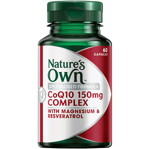 Nature's Own COQ10 Complex for Health & Well-Being