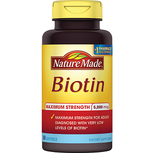 NatureMade Biotin for Hair Growth