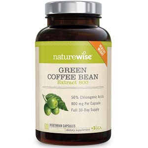 Naturewise Green Coffee Bean for Weight Loss