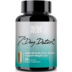 Nutra Belief 7 Day Detox for Weight Loss
