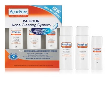 package of acnefree for acne