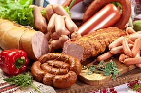 photo of processed red meats