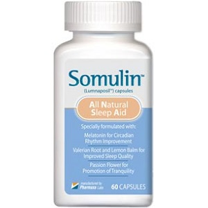 Somulin All Natural Sleep Aid for Insomnia