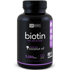 Sports Research Biotin for Hair Growth
