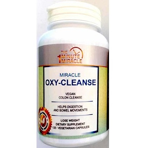 The 1 Minute Miracle Miracle Oxy-Cleanse for Weight Loss