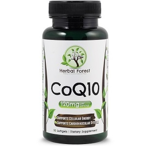 The Herbal Forest CoQ10 for Health & Well-Being