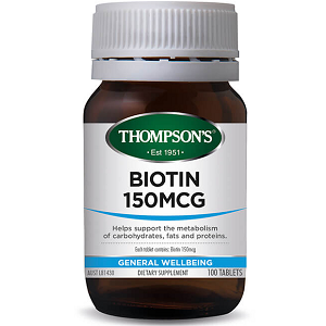 Thompsons Biotin for Health & Well-Being