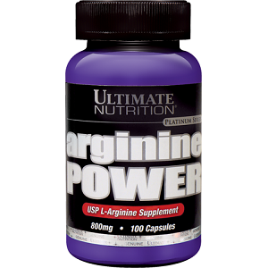 Ultimate Nutrition Arginine Power for Muscle Building & Cardiovascular Health